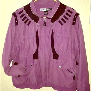 Jamie Sadock 80s inspired Jacket